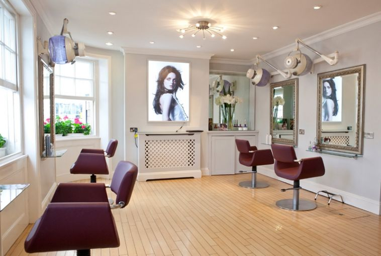 Inside Martin & Phelps Hair salon, Cheltenham, Gloucester