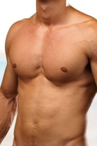 men´s chest waxing at Top Salon in Cheltenham