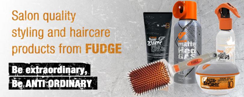 Fudge Hair Products for Men, Cheltenham Barbers