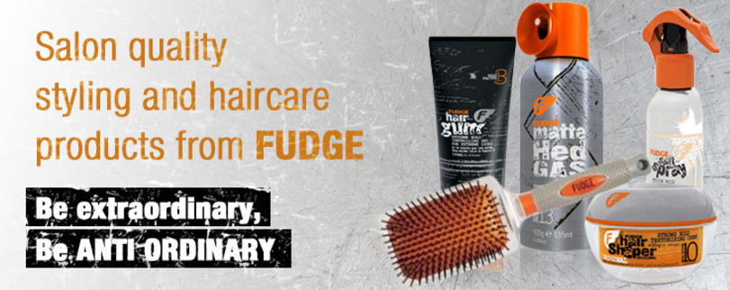 Fudge Hair Products for Men, Cheltenham Barbers