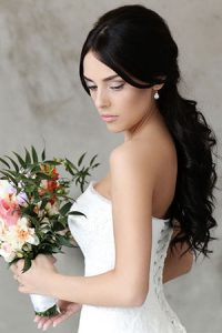 wedding hair extensions at Martin & Phelps hair salon Cheltenham
