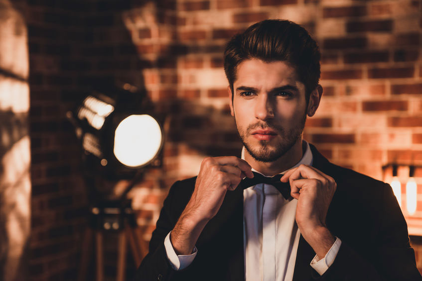 Wedding hairstyles for men Cheltenham barbers
