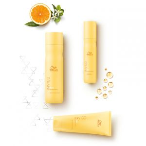 Wella sun protection products at Cheltenham hair salon