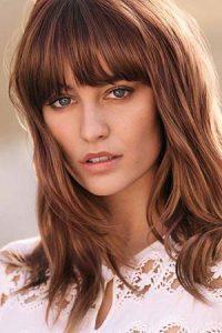 brunette with red tones Cheltenham hair salon