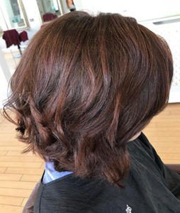 Chocolate Lob Chelteham Hair Salon