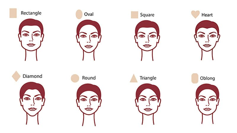 Face shapes for flattering hairstyles, Martin and Phelps Hair Salon in Cheltenham