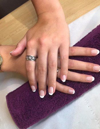 French-Manicure-Cheltenham-Beauty-Salon